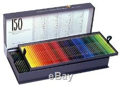 Holbein Color Pencils 150 colors set Paper box High Quality Gift Japan