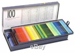 Holbein colored pencil 100 color set Kamihako F/S EMS SHIPPING