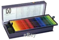 Holbein colored pencil 150 color set Paper box Free Shipping
