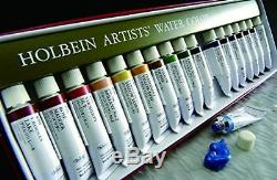 Holbein transparent watercolor artists paint 108colors set W422 5ml No. 2 F/S New