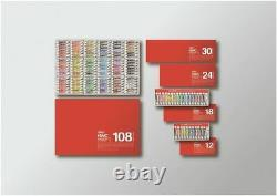 Holbein transparent watercolor paint 60 color set W411 5ml (No. 2) From Japan