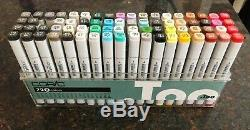 Lot of 137 Copic mixed Touch sketch color marker set hardly used