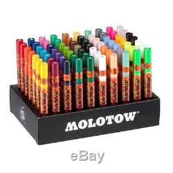 MOLOTOW ONE 4 ALL 127 FULL SET 70 x PAINT MARKER PENS IN CARD STAND