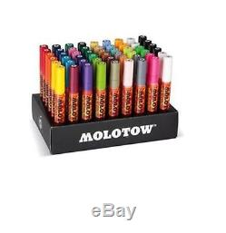 MOLOTOW ONE4ALL 227HS MARKERS LARGE SET 54 x PAINT MARKER PENS IN CARD STAND