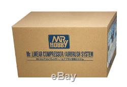 Mr Linear Compressor L5 airbrush paint set GSI Creos PS321 Mr. Hobby from JPN F/S