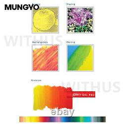 Mungyo MOPV-120 Soft Oil Pastels WOOD Box Set of 120 Assorted Color 2021 NEW