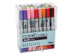 NEW Copic Ciao Artist Markers 36 colors B set Manga Anime Comic from Japan