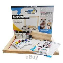 NEW Daler Rowney System 3 Screen Printing Set Includes DVD