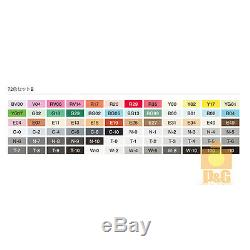 NEW TOO COPIC classic Set B 72 color 72B PEN SET Artists Markers Anime Comic