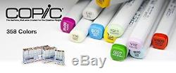 NEW Too Copic Ciao Markers Sketch 72 (72 Colors Set A) Free Shipping From JAPAN