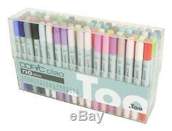NEW Too Offical Copic ciao 72 Colors Marker B Set for Manga Anime