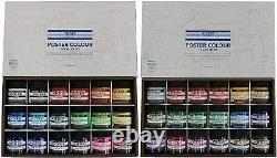 NICKER Anime Watercolor Paint Poster Color 36 Colors Set Middle Bottle NEW JAPAN