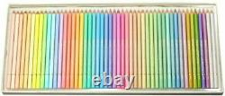 New Holbein Artists Colored Pencils Pastel Tone 50 Colors Set Paper Box Japan