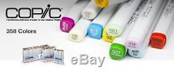 New! Too COPIC Ciao A Set of 72 Colors Pens ART Illustration Japan Import