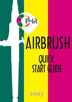 OPHIR Complete Airbrush Makeup Set w Foundation Blush for Stage Special Makeup