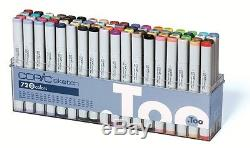Offical TOO Copic Sketch Marker 72 D color Set Premium Artist Anime Manga
