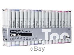 Official Copic Sketch 72 Colors Marker E Set US Seller, Artist Markers Brand NEW