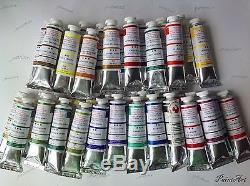 Oil paints Extra Fine set 55x46,23x46 and 11x46 ml tube. Russia. Podolsk. Moscow