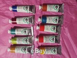Old Holland Classic Oil 40ML tubes set of 10 NEW NEVER OPENED