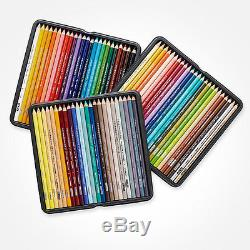 Premier Colored Pencils, Tin Box Set of 72. NEW! FREE SHIPPING