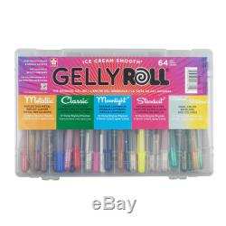 Sakura Gelly Roll 64 Pen Assortment Collection Gift Set with Storage Case