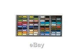 Sennelier Soft Pastels Cardboard Box Set of 80 Half Stick Assorted Colors
