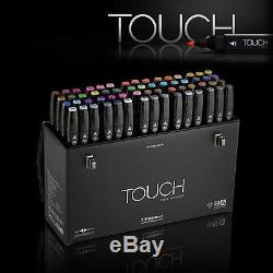 ShinHan Art TOUCH TWIN 60 Marker Set A Twin tips 60 COLORS