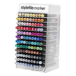Stylefile Marker 120 Set Graphic Art Twin Tipped Pens