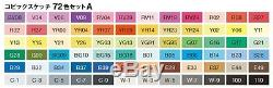 TOO Copic Sketch 72 color A the most popular set NEW from Japan Speed Post