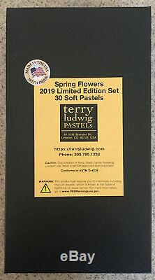 Terry Ludwig Soft Pastels 2019 Limited Edition Spring Flowers Set Of 30
