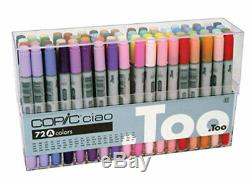 Too 008270 Manga Anime Comic Markers Copic Ciao 72 Color Set A From Japan
