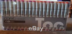 Too COPIC sketch marker set 72 A & 72 B Manga Drawing Pens Markers from Japan