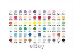 Too Copic Ciao 72 Color Set A Manga Anime Comic Markers Pens from Japan F/S