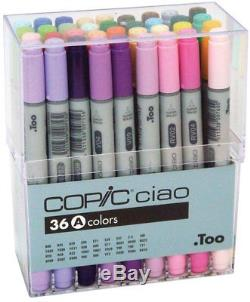 Too Copic Ciao Markers 36 Color Set A Brand New Anime Manga Japan F/S