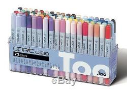 Too Copic Ciao Markers Sketch 72 (72 Colors Set A) Japan New