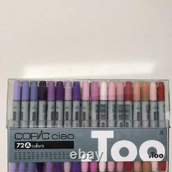Too Copic Ciao Start 72 Color Set Markers Manga Comic Anime llustration Art