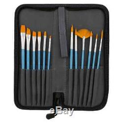 US Art Supply 133pc Deluxe Artist Painting Set with Aluminum and Wood Easels, Pa