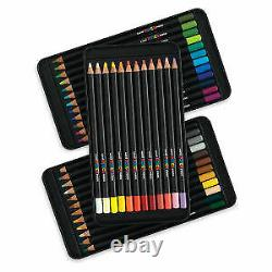 Uni Posca Pencil Assorted Set of 36 New 36 Colored Pencil Pack with Tin Case
