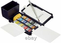 Winsor Newton Artists Water Colour Field Box Drawing Set with Half Pan Pack